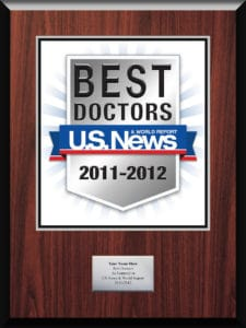 Top Doctor 2012 - US News and World Report
